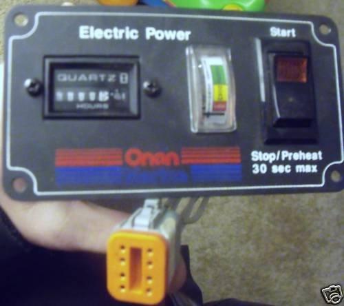 Onan Remote Panel 300-4546