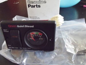 Onan Remote Panel Kit 300-4944 (300-4952-03) Quiet Diesel