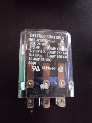 Deltrol 166 3PDT Relay