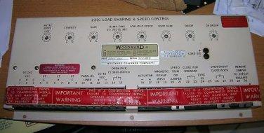 Woodward 2301 Load Sharing & Speed Control, Onan 151-0384, WE