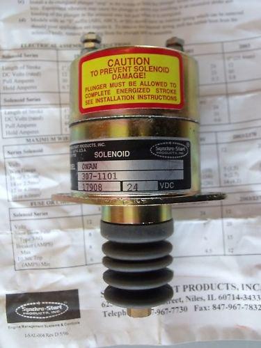 Onan Stop Solenoid 307-1101 Military Grade JC ?, NOS