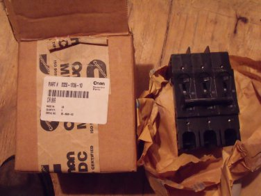 Onan 320-1836-11 Circuit Breaker, 3 Pole  NEW