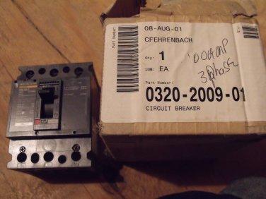 Onan 320-2009-01 Circuit Breaker, 3 Phase, 100A  NEW