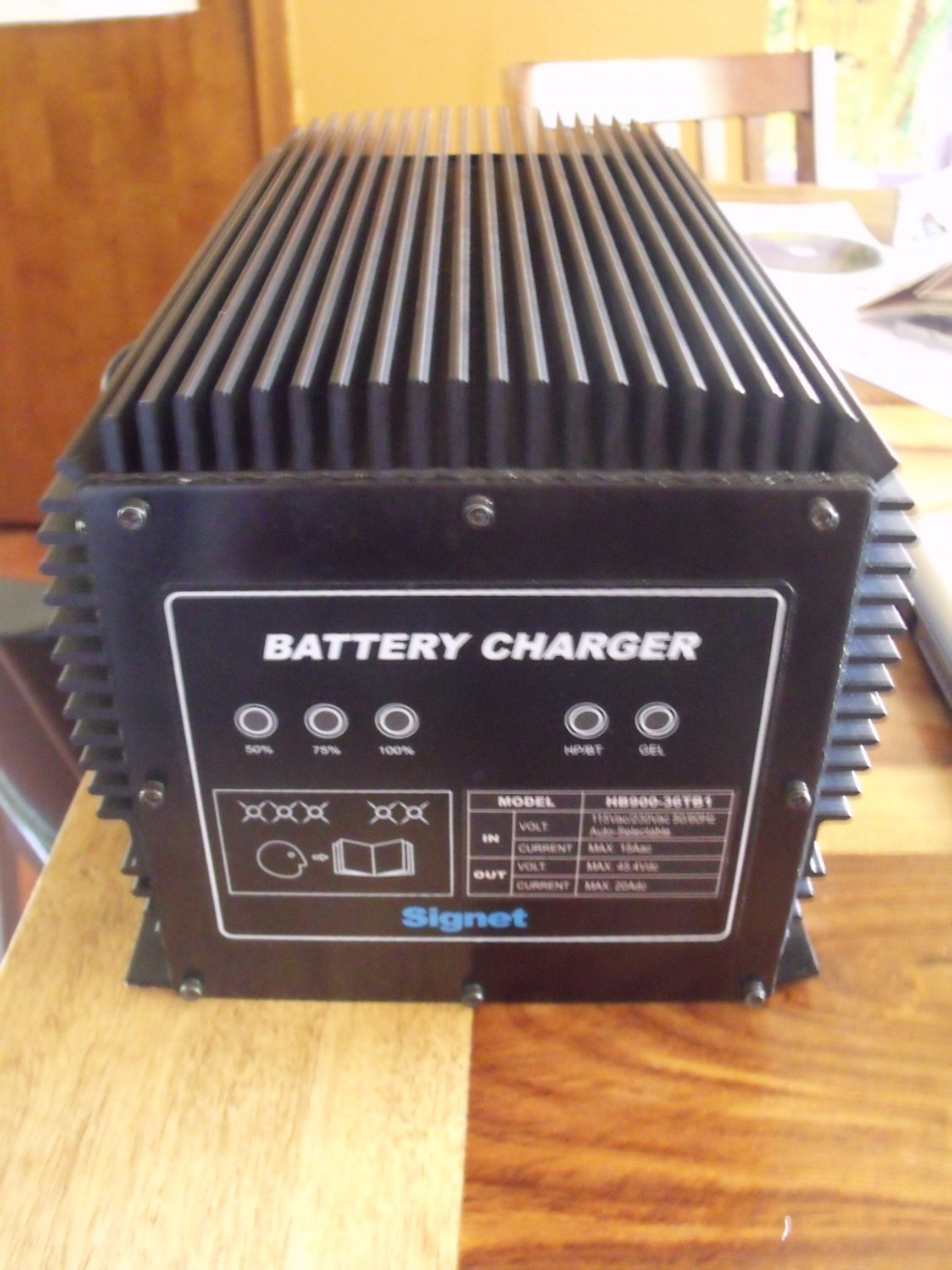 What Stores Accept Paypal Credit >> Signet HB900-36TB1 Battery Charger
