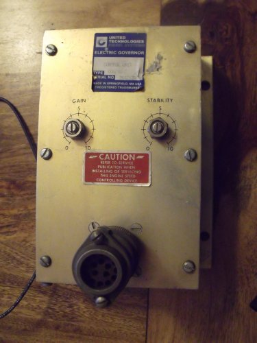 United Technologies / Ambac CU671C 7 Electronic Governor Control Unit