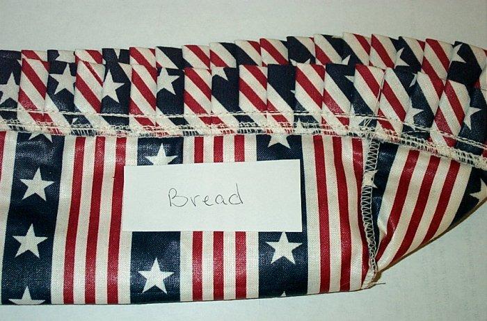 Retired Longaberger All American Bread Basket Liner