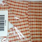 Retired Longaberger Homestead Apple Orchard Plaid Liner