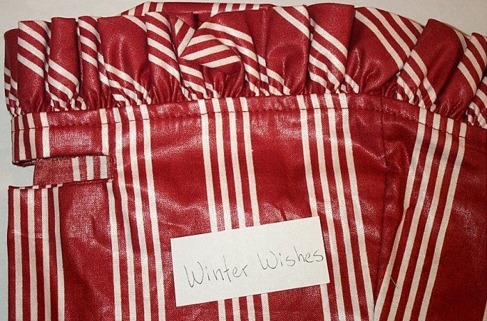 Retired Longaberger Winter Wishes Liner