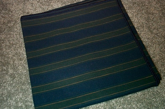 Retired Longaberger Collectors Club Fabric Table Square