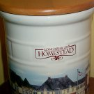 Retired Longaberger Homestead Crock With Lid