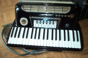Vintage Loduca Lo Duca Accordian In Hard Case, Nice!