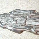 Longaberger 1993 St. Nick Pewter Ornament