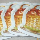 Longaberger Retired Large Apple Basket Coasters