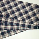 4 Excellent Rare JW Plaid Longaberger Napkins 17 x 17