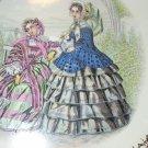 Pink Trim W/Ladies Cumberland Falls Park Souvenir Plate