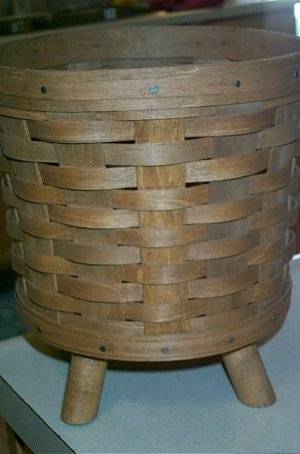 Longaberger Rare Very Nice 1985 Fern Basket