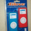 2 Blue & White Iglove Apple Nano Case Skin Cover Sleeve