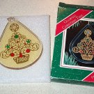 1986 Hallmark Glowing Christmas Tree Ornament