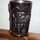 Very Pretty Fenton Butterfly & Berry Tumbler