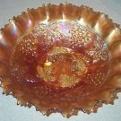 Gorgeous Northwood Grape & Cable Bowl