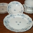 Johann Haviland Blue Garland 7 Piece Place Setting x 8