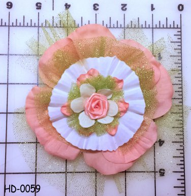 Hair Accessory, Hair clip, Hair flower  HD-0059