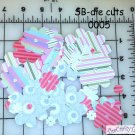 Die Cut Paper Flower for Scrapbooking SB-DC-0005 CHQD