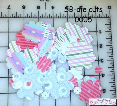 Die Cut Paper Flower for Scrapbooking SB-DC-0005 CHQD