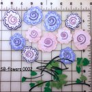 Hand made flowers for scrapbooking SB-F-0001