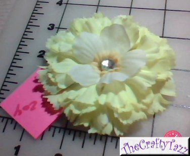 Hair Accessory, Neon Hair Flower Clip  HD-0204