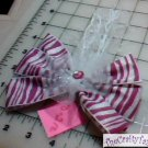Hair Accessory, Neon Hair Flower Bow HD-0212
