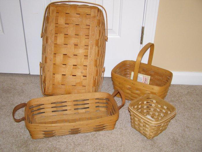 Longaberger Spring Basket with Protector