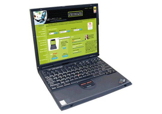 Ibm Thinkpad T20 Notebook Computer