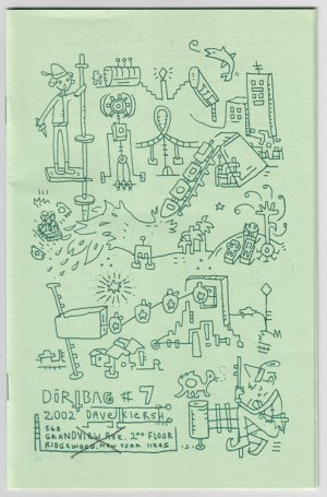 DIRTBAG #7 Dave Kiersh mini-comic 2002 Dave K comix