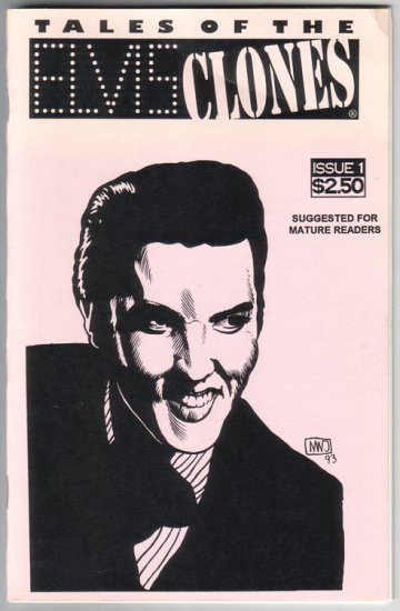 TALES OF THE ELVIS CLONES #1 mini-comic zine MARK FINN 1994