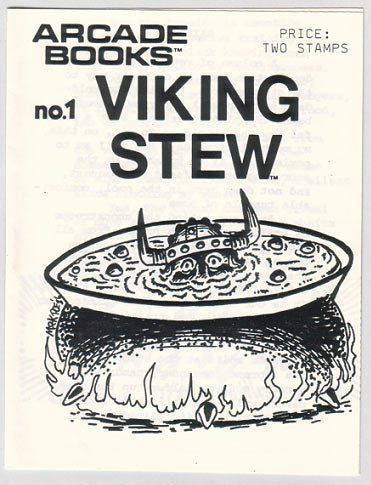 VIKING STEW #1 mini zine MARK POE Tim Hagstrom 1986