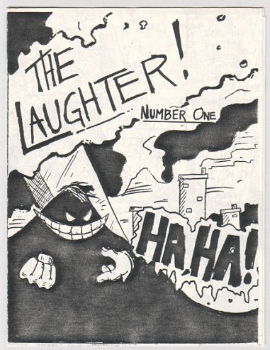 THE LAUGHTER #1 mini-comic J.D. VALENCIA 1986 comix