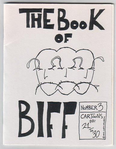 THE BOOK OF BIFF #3 mini-comic CHRIS HALLBECK 1995 comix signed & numbered