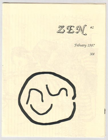 ZEN #2 mini-comic JEFF MARTIN minicomic 1987
