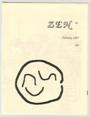 ZEN #2 mini-comic JEFF MARTIN 1987 minicomic