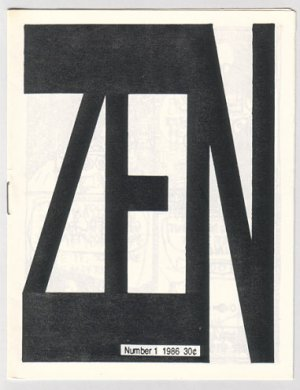 ZEN #1 mini-comic JEFF MARTIN 1986 minicomic Buddhist comic