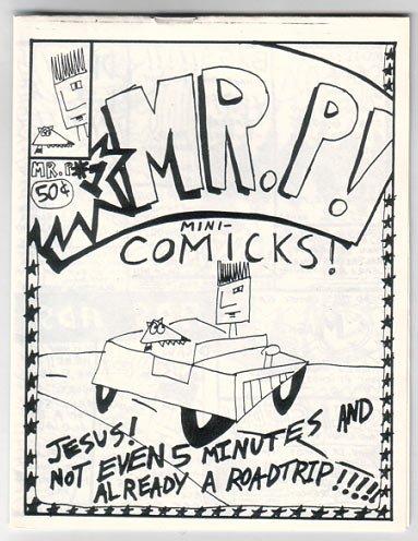 MR. P #1 & 2 mini-comic JACK FLAP 1991 comix