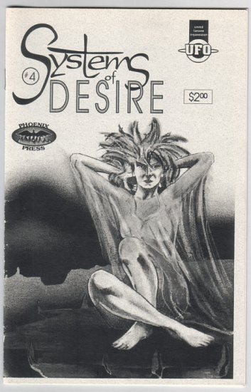 SYSTEMS OF DESIRE #4 mini-comic MICHAEL HEGG Brett Bogart 1993 comix UFO