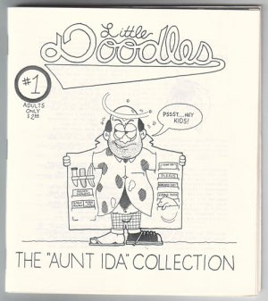 LITTLE DOODLES #1 mini-comic POL PAT 1995 comix