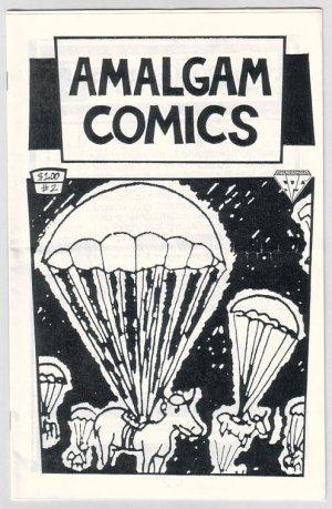 AMALGAM COMICS #2 mini-comic YUL TOLBERT Mad Dog 1995 comix