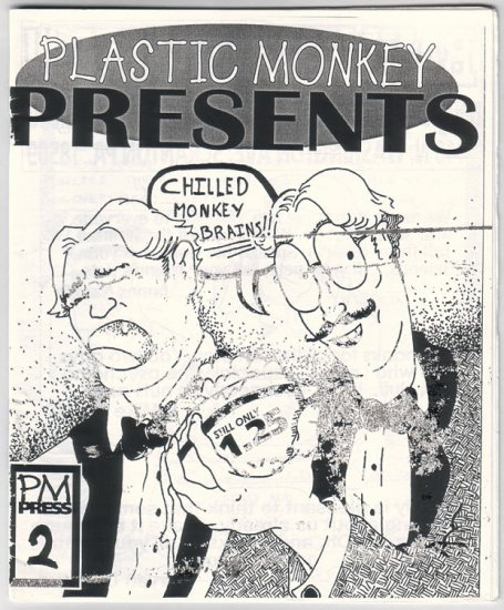 PLASTIC MONKEY PRESENTS #2 mini-comic JAMES NAUGLE late '90s