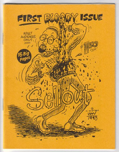 SELLOUT #1 mini-comic MARTY WINTERS 1993