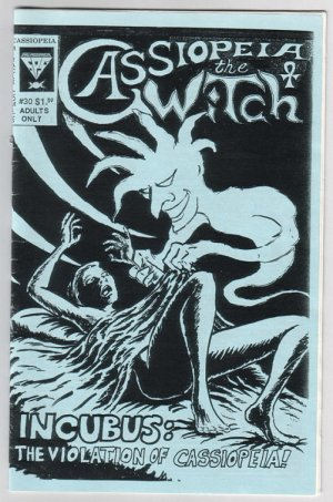 CASSIOPEIA THE WITCH #30 mini-comic PERRY LAKE Karen O'Donnell 1995