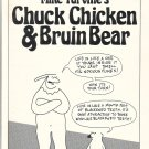 CHUCK CHICKEN & BRUIN BEAR mini-comic MIKE TURVILLE 1986