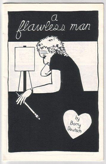 A FLAWLESS MAN mini-comic BARRY DEUTSCH 1988 comix